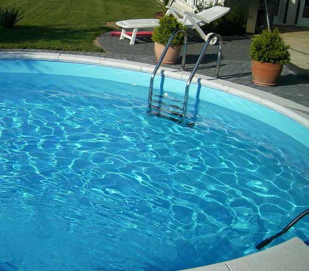 Exklusiv Rund Pool